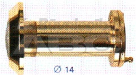 Durvju actiņa ar vāciņu  35-55mm hroms