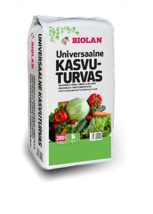 Biolan 280l  Dārza kūdras  substrāts (60kg)
