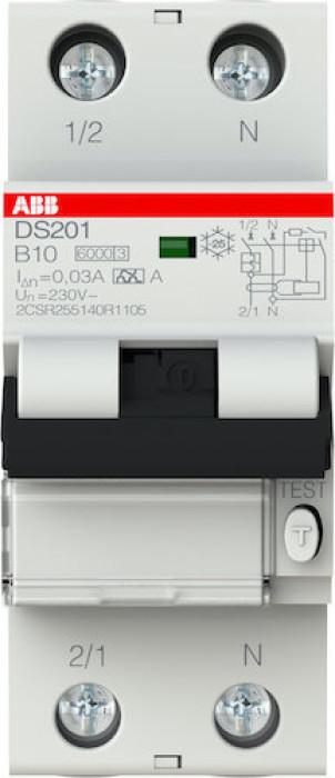 Kombinētais NAS ABB DS201-C10-AC30