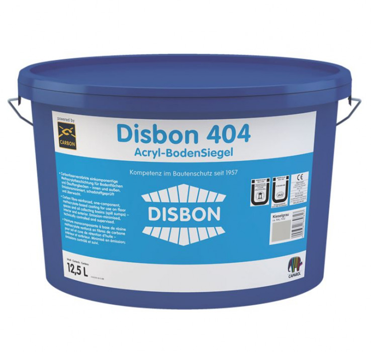 Caparol Disbon 404 Acryl-Boden Siegel B3 2.5kg Acrylic Floor Sealer