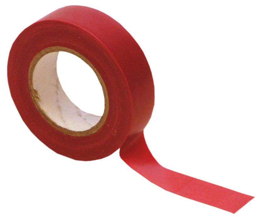NOVIPRO Electrical Tape  19mm x 20m PVC red