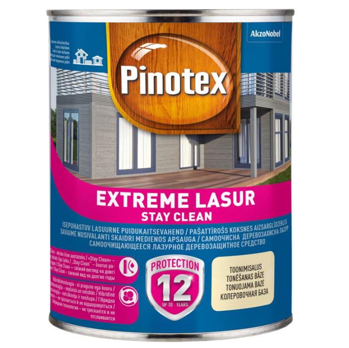 Pinotex EXTREME LASUR 1L White wood preservative