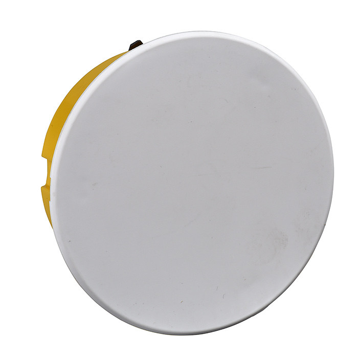 Plasterboard Junction Box / Apparatus Box round, D-85x45 with lid