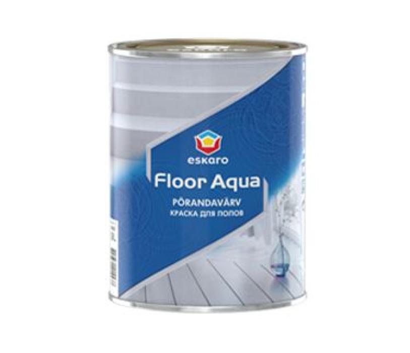 Eskaro FLOOR Aqua A 0.9L Krāsa grīdai