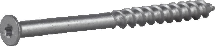 Skrūve vieglbetona 8x110mm CS gremdgalva 100gab/iep., ESSVE 105305