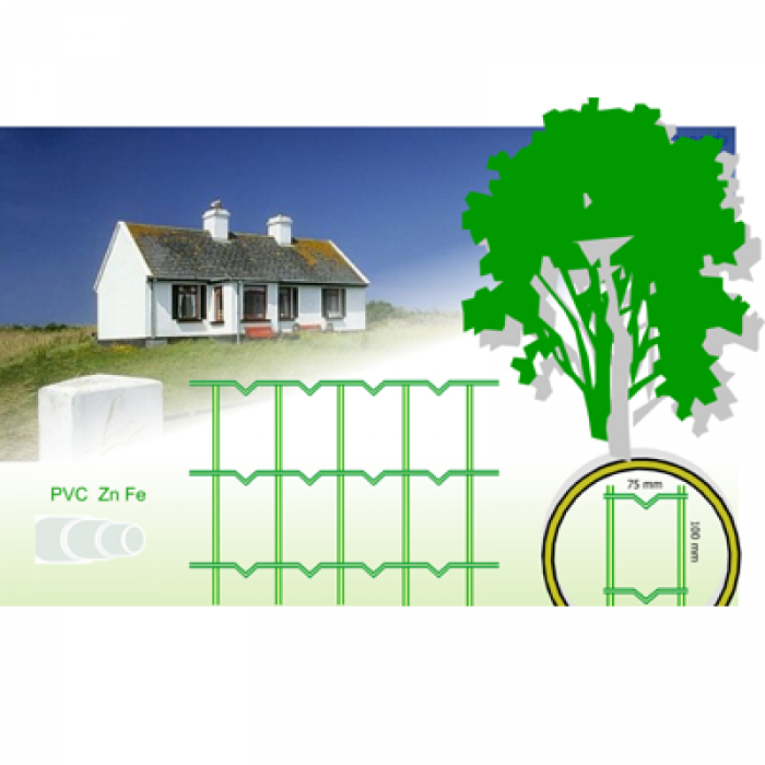 FENCE 1.5*25M (75*100MM) 2.1MM 000170