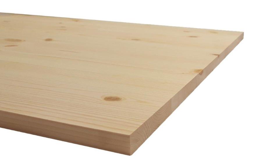 Līmēta masīvā koka plāksne  1200x600x18mm Priede Opus
