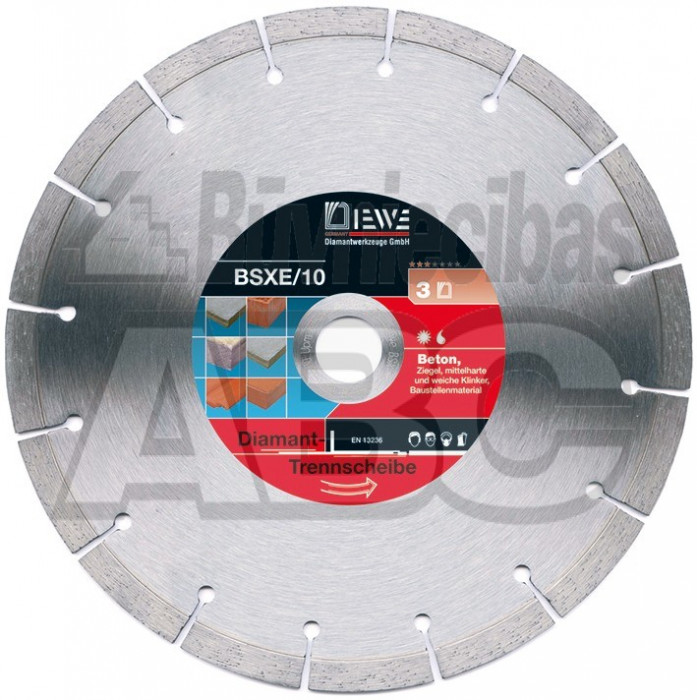 Diamond disc DIEWE BSX-E/10 d.230
