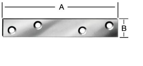 Savienojuma plate 80x15mm