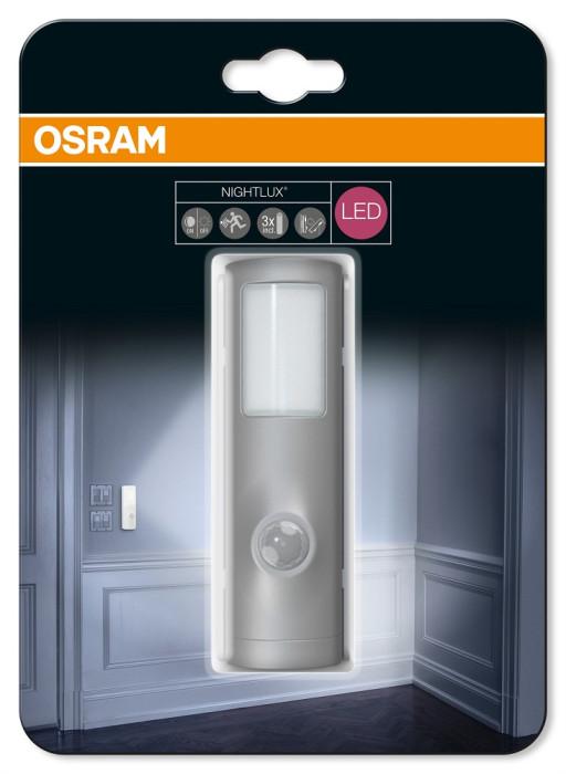 OSRAM nakts gaismeklis LED  ar kust.sensoru NIGHTLUX sudr