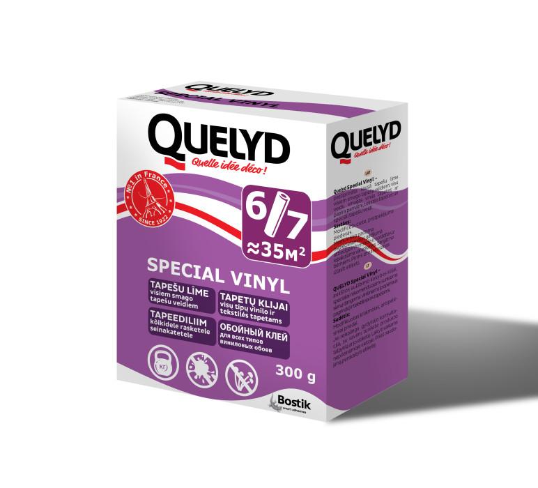Wall paper adhesive Bostik Quelyd VINYL 300g Tapešu līme (431018193)