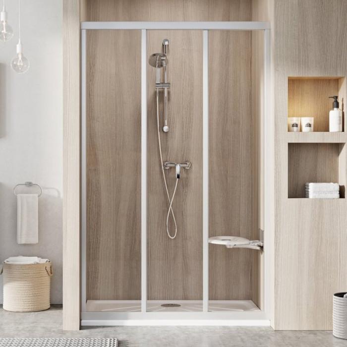 Ravak Dušas kabīnes durvis  ASDP 3-90 Balts/Grape