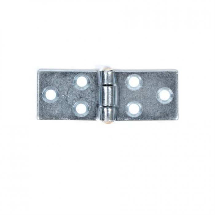 Leaf hinge zinc 72x26mm