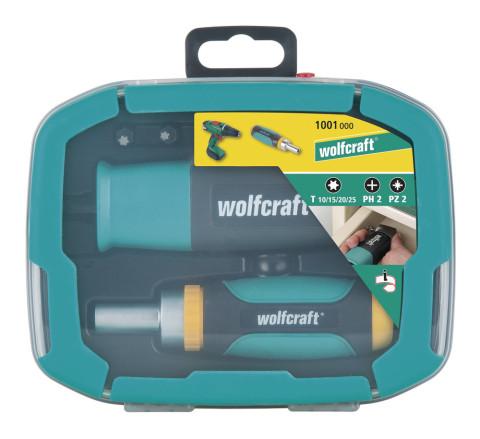 Wolfcraft skrūvgriežu kompl.  6 uzgaļi 1001000