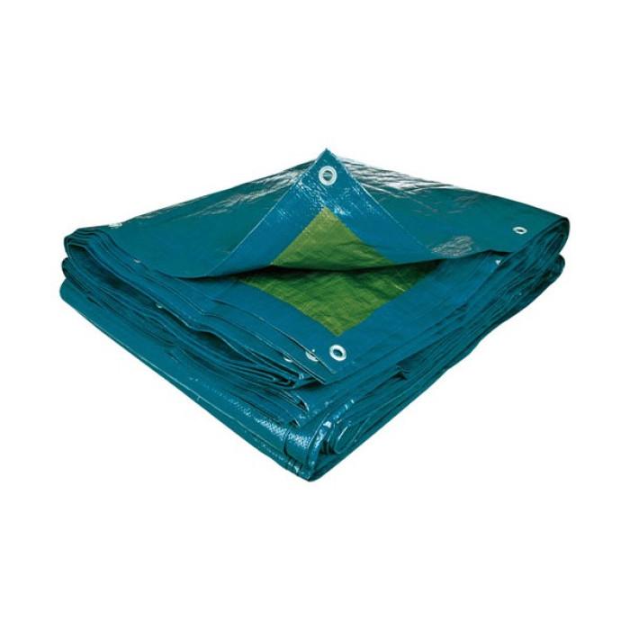 Tents pārklājs 3x5m  75gr/m2 zaļš/zils NOVIPRO