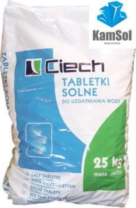 Sāls tabletes Ciech ūdens  attīrīšanai 25kg (Polija)