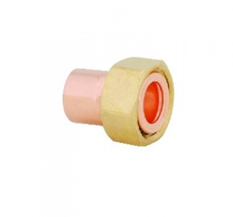 Copper straight tap connector  18x1/2''
