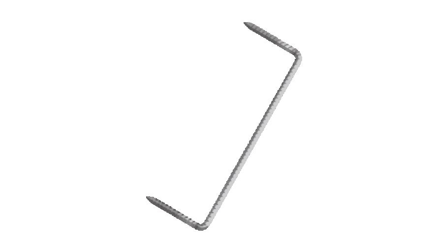 Būvskava 6.5x200mm cinkota
