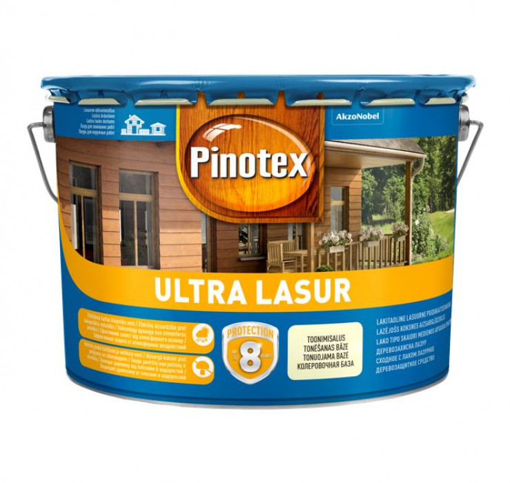 Pinotex ULTRA LASUR 10L walnut