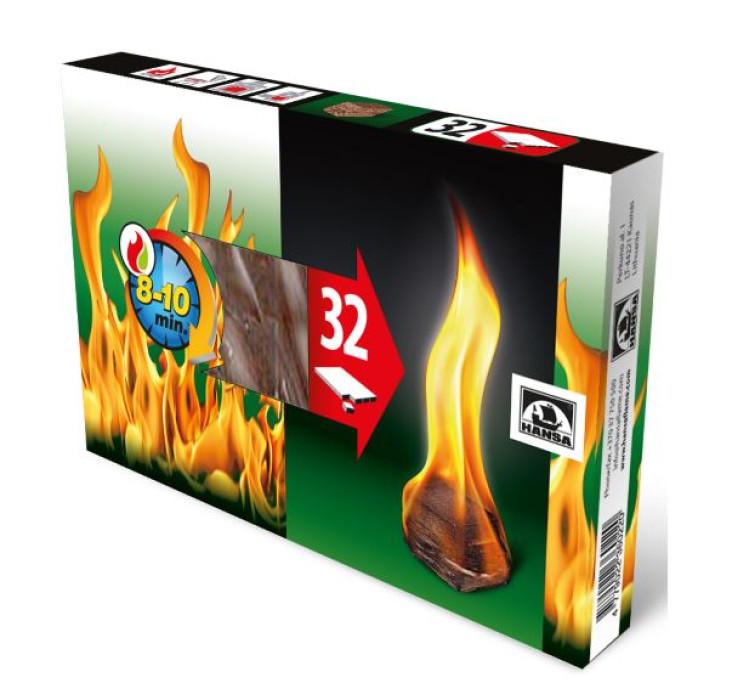 Hansa Firelighters 32 pcs