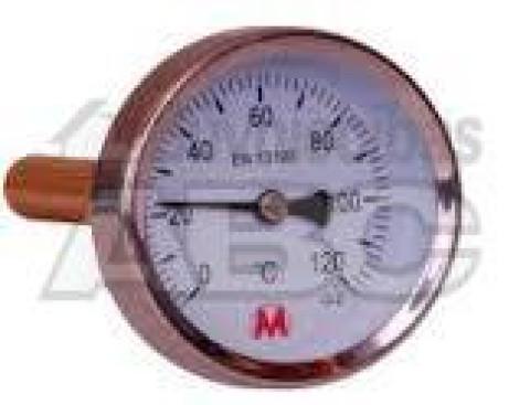 Termometrs bimet.ar spirāli  D63 120C