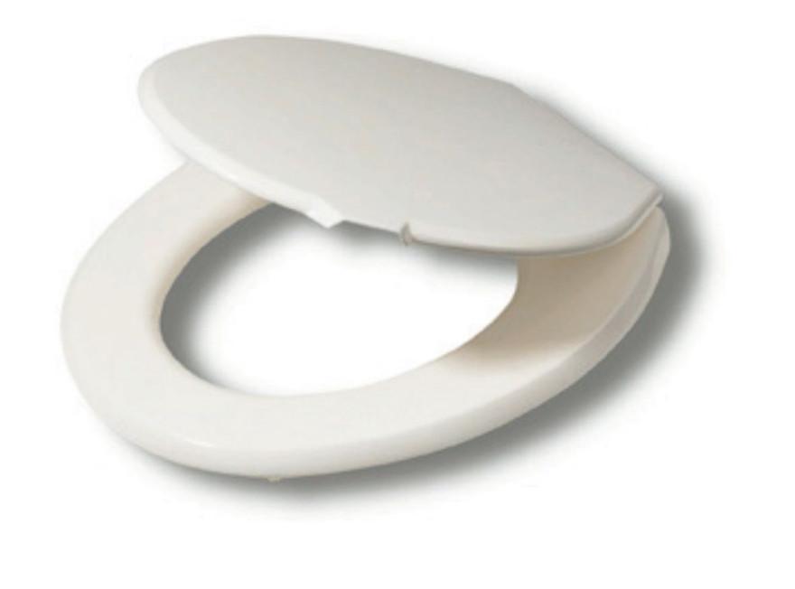 BASIC toilet seat, white, thermoplast