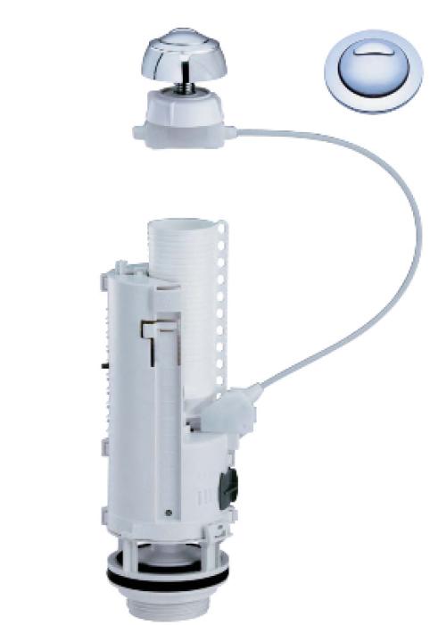 WC noplūdes mehānisms  Optima 50 ar skrūvēm  (32500024)