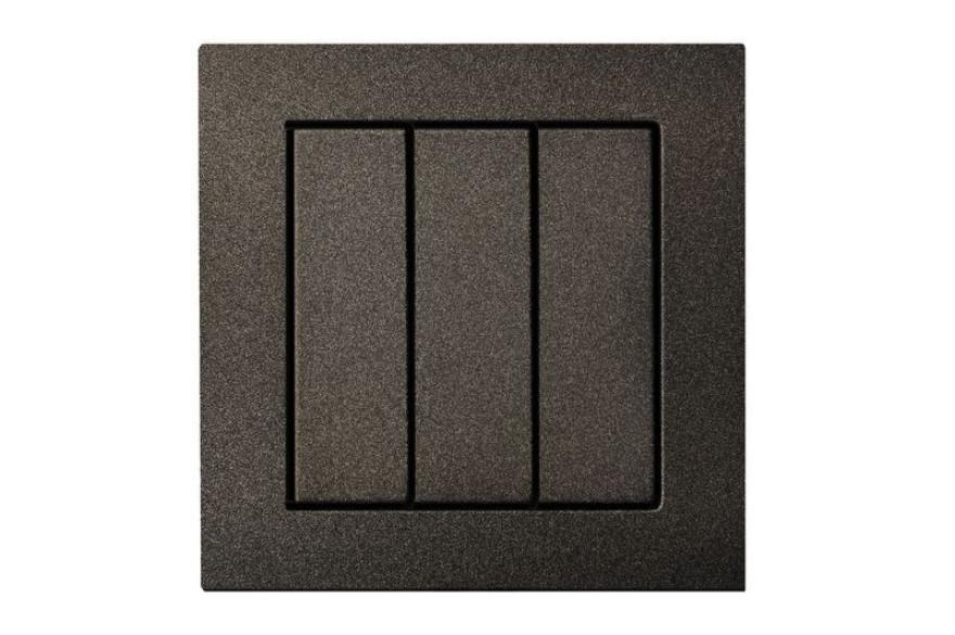 LIREGUS EPSILON black  switch without frame z/a