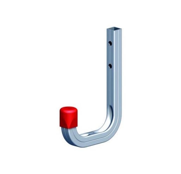 Wall hook 115x140 max.30kg Aluminum/silver