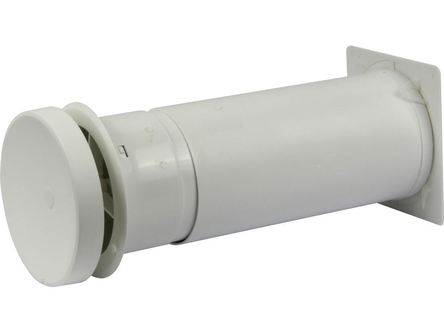 Pisla ieplūdes gaisa vārsts D100mm, teleskopisks 250-400mm
