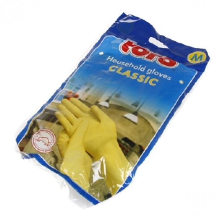 Rubber gloves size M