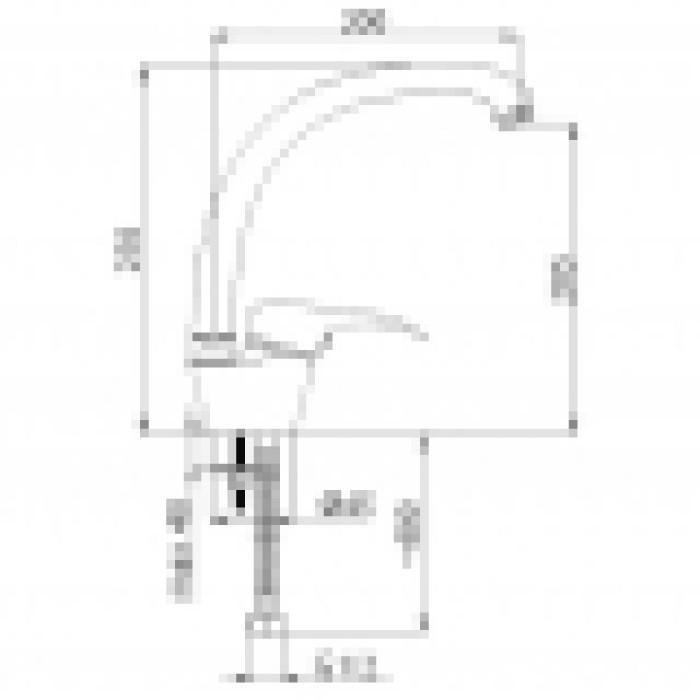 Maisītājs virtuves izlietnei  Optima-33 , O30008