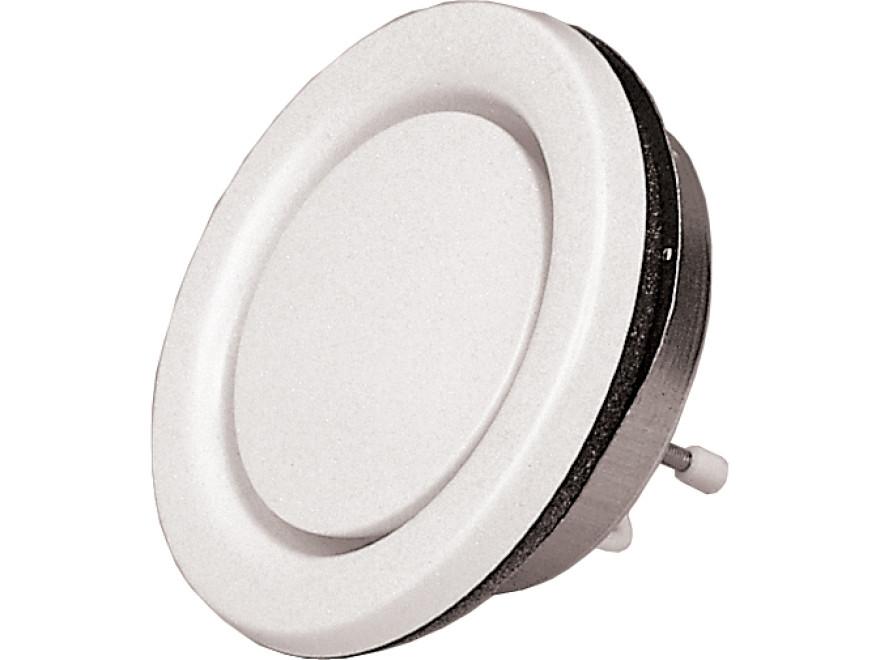 Pisla 270 pirts ventilācijas ventilis D125mm metāls/balts , 31201720