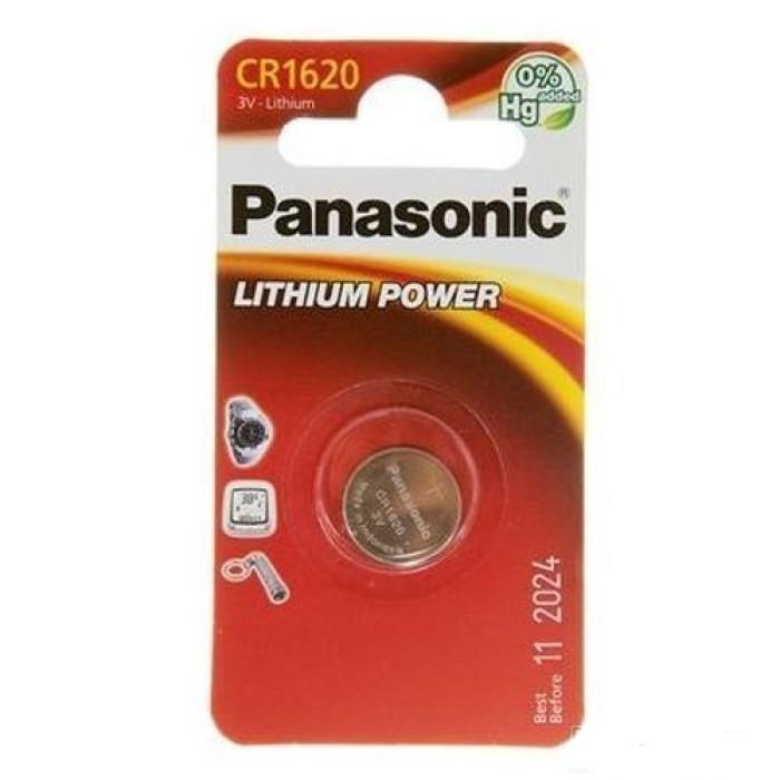 BATERIJA PANASONIC CR-1620EL/1B 1GB/IEP 280-208, BR1620,DL1620,ECR1620