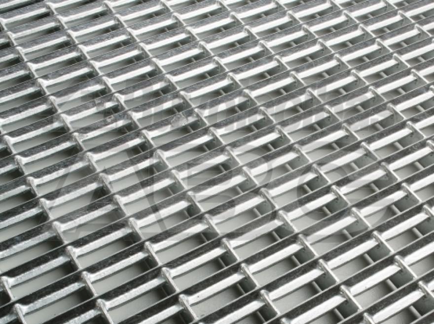 Grid doormat 1000x500x20 Vario zn steel 01209