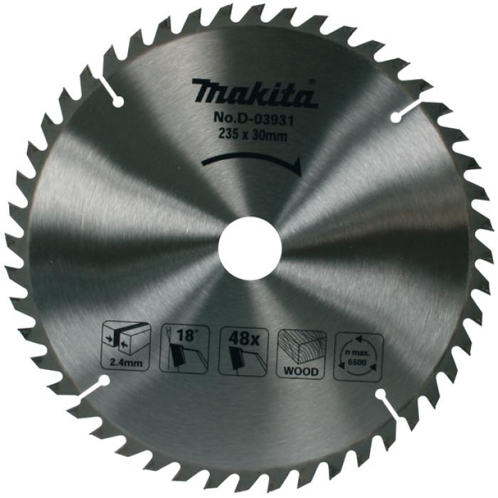 Saw Blade 235x30/25x2,4mm 48T 18°, Makita D-03931