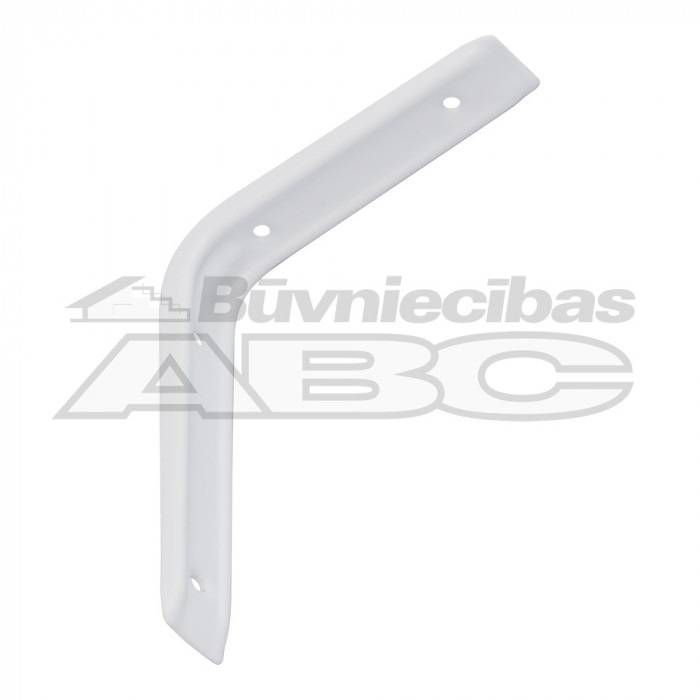 Steel bracket 250x300 white