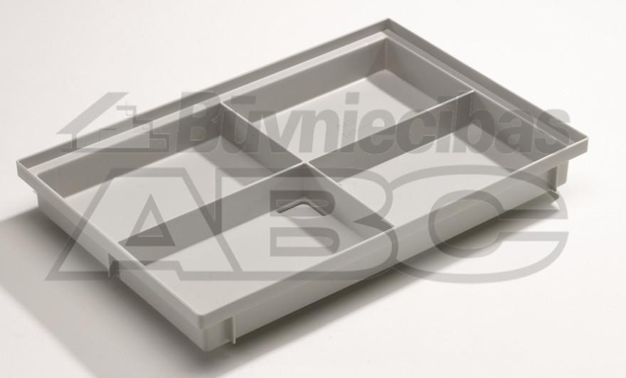 Doormat bath 600x400x75 Vario plastic 82400