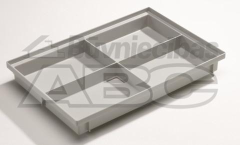 Kājslauķa vanniņa 600x400x75  Vario plastmasas 82400