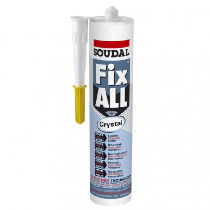 Fix ALL adhesive sealant crystal 290ml