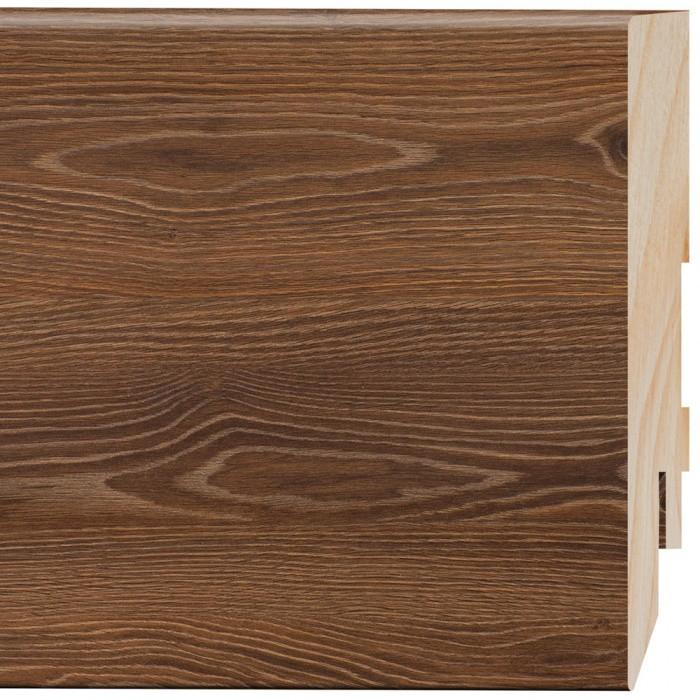 Grīdlīste MDF 80/16mm 2.4m Prestige L734 Oak Ibiza