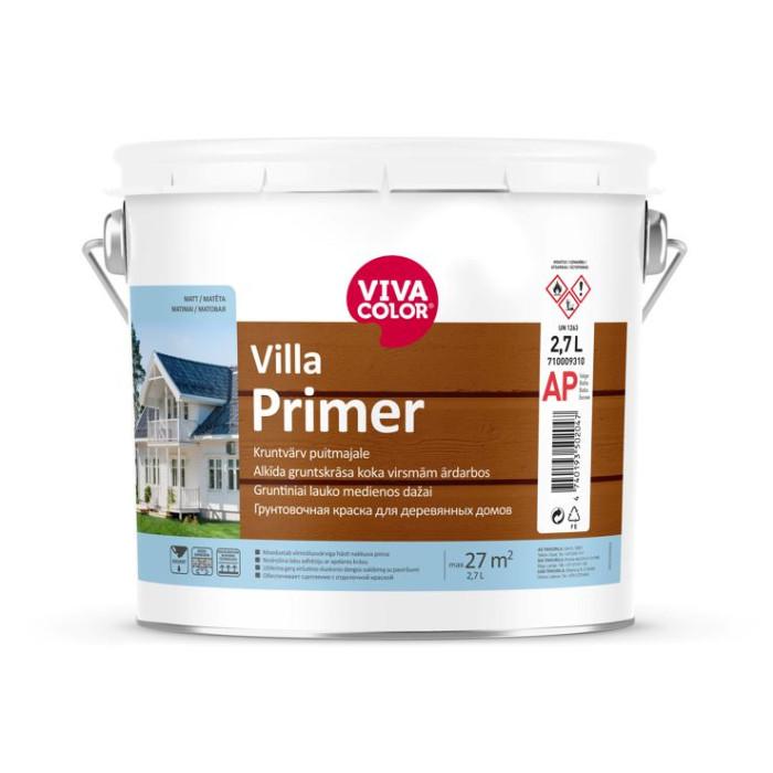 Vivacolor VILLA PRIMER 3l Primer for wooden facades