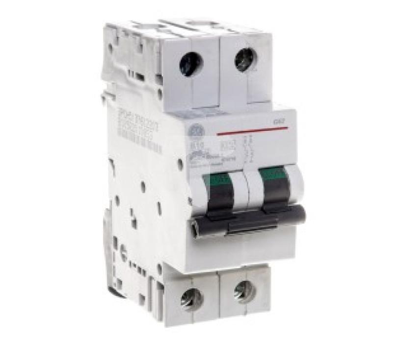 Miniature circuit breaker GE B 2P 20A G60