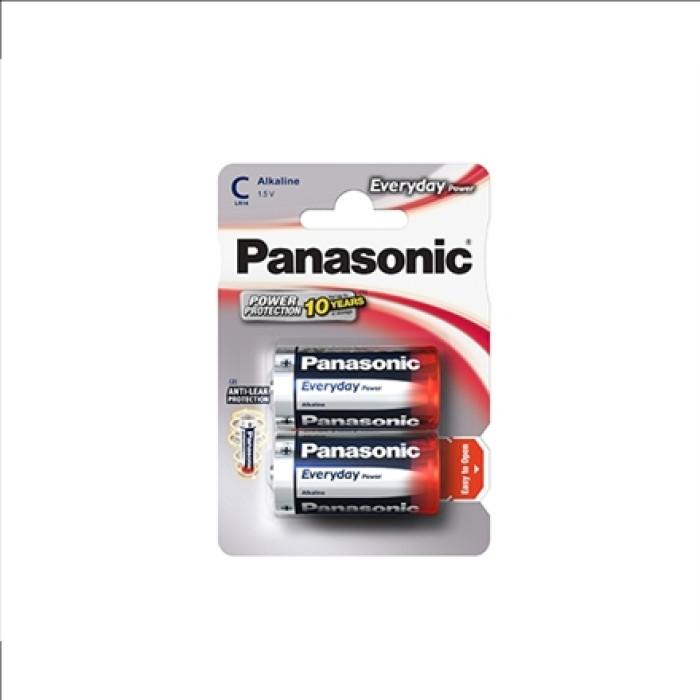 BATTERY PANASONIC EVERYDAY POWER C 2PCS./PACK