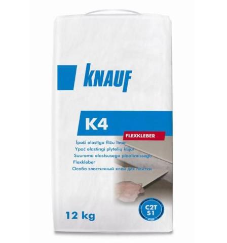 Knauf K4 īpaši elastīga flīžu  līme 12kg