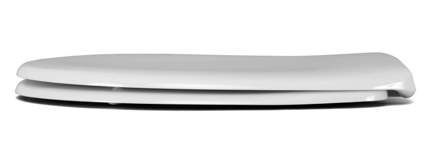 BAHAMA BEACH toilet seat,duroplast,white,2.0 kg,long sc