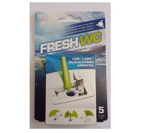 IFO WC atsvaidzinātājs FRESH  Lime (iep.5 gb.)