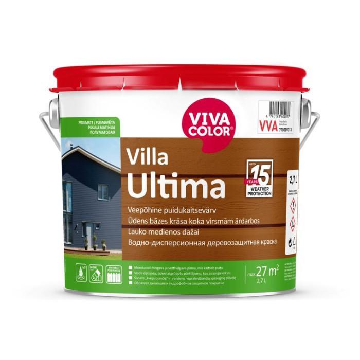Vivacolor VILLA ULTIMA VC 2.7l Waterborne wood protection paint