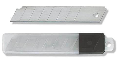 10 x nolaužami asmeņi 18mm  0.40mm kastītē un blisterī