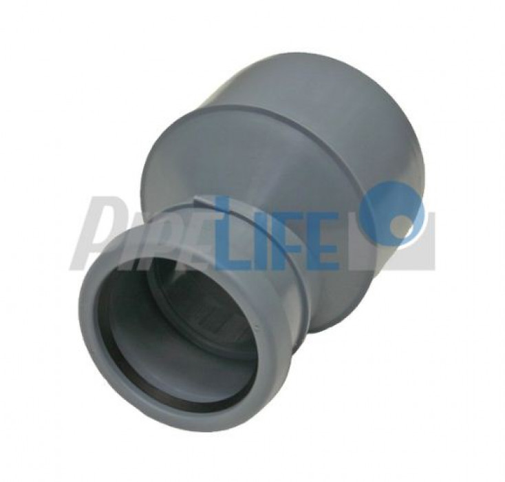Indoor Sewer systems, PP Reducer Dn 75/50 Long